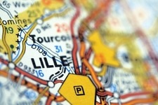 Lille Map Small