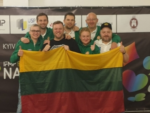 Jubilant Lithuania took the Plate and the 7th spot in Peru!